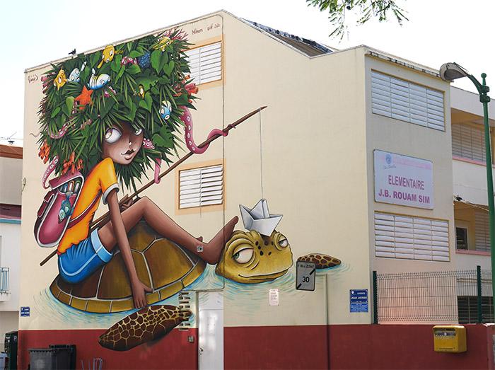 street art fort de france ipaf festival