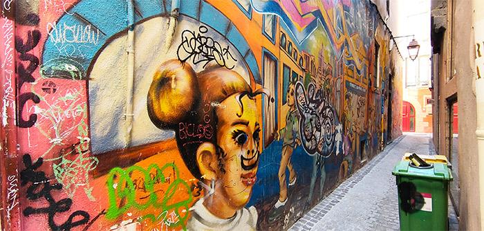 street art clermont ferrand impasse
