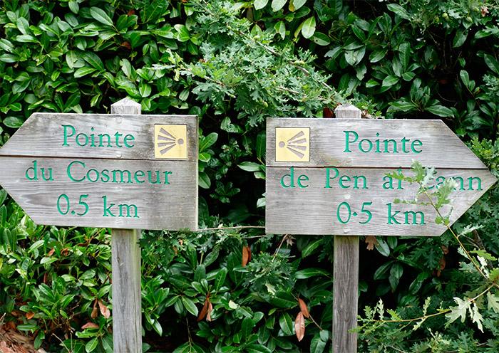 pointe pen al lann paysage