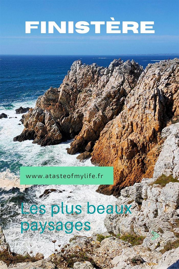 plus beaux paysages finistere ocean