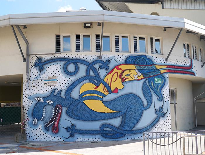 amylee fort de france street art