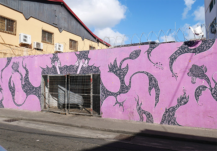 ford paul fort de france street art