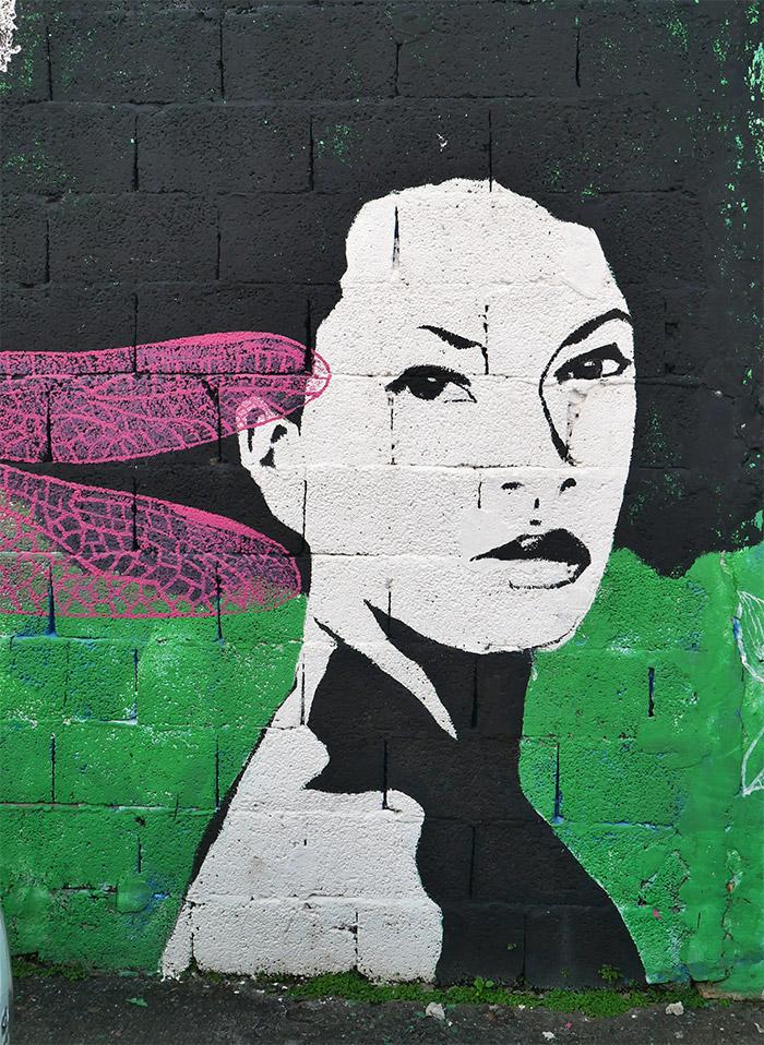helene raffestin street art martinique