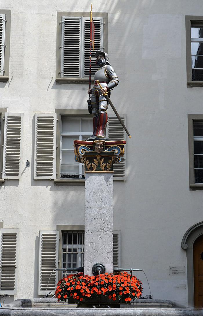 statue berne suisse