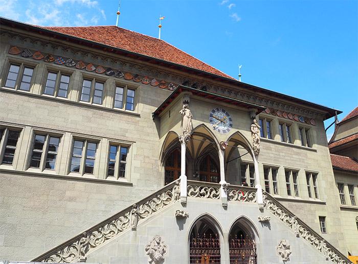 rathaus suisse berne
