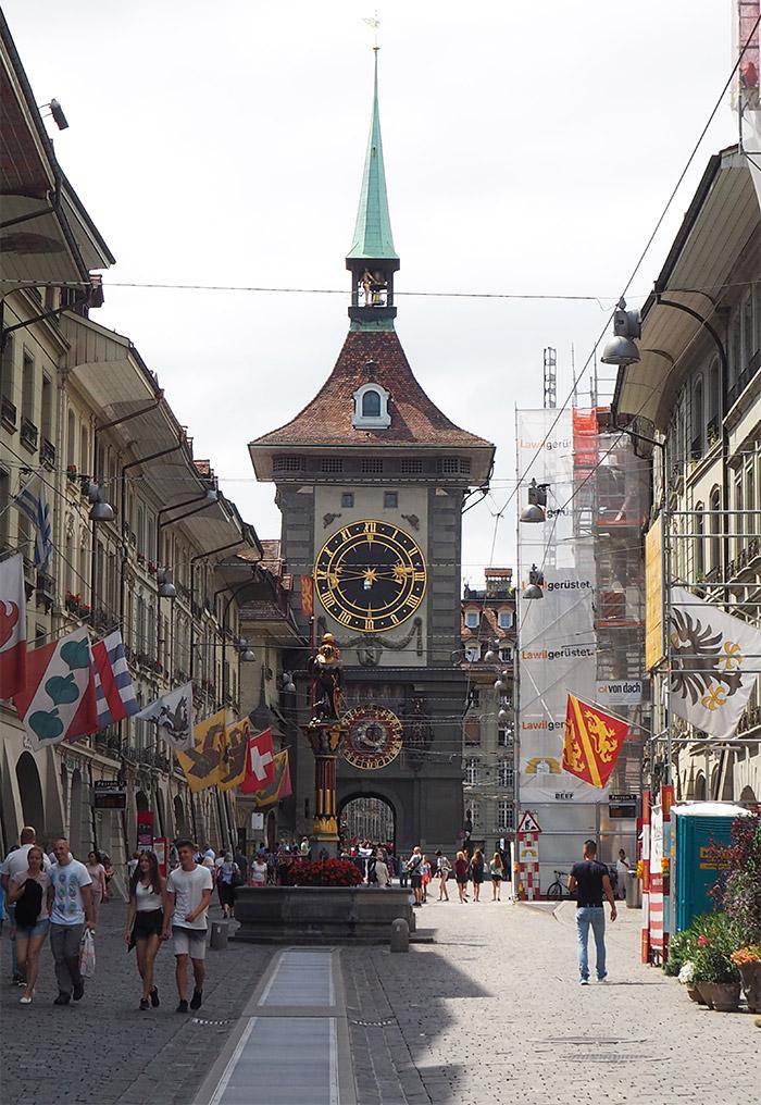berne suisse tour horloge