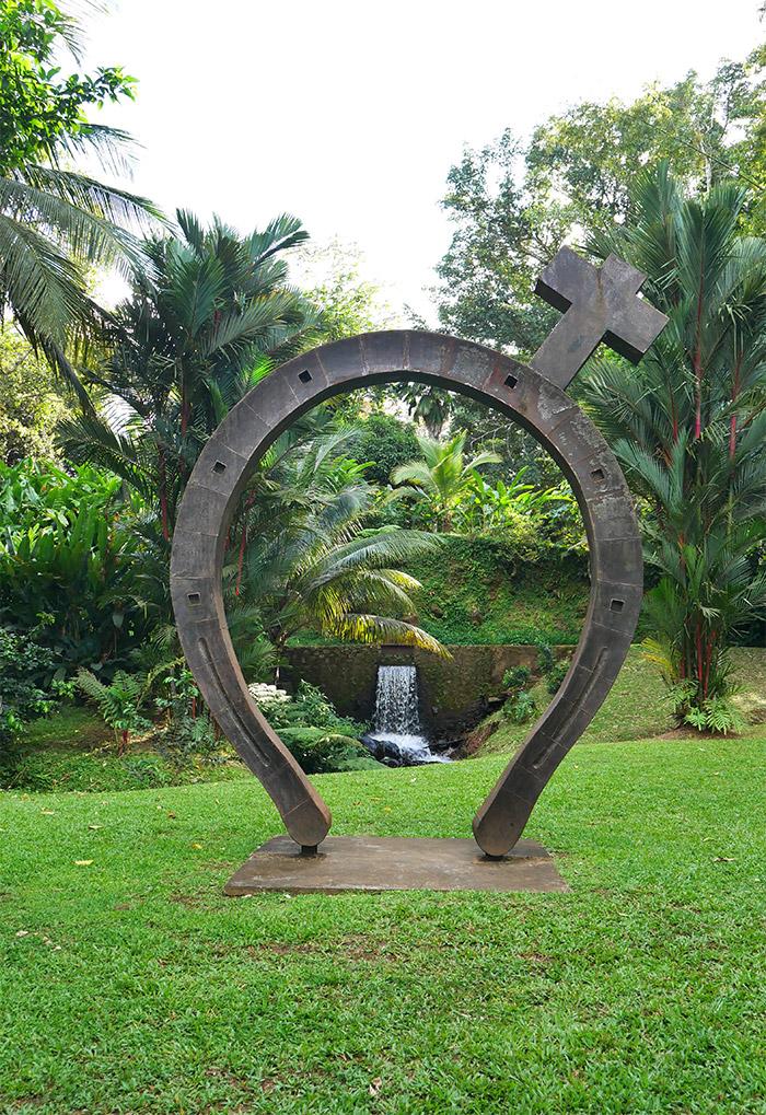 jardin sculptures habitation saint etienne