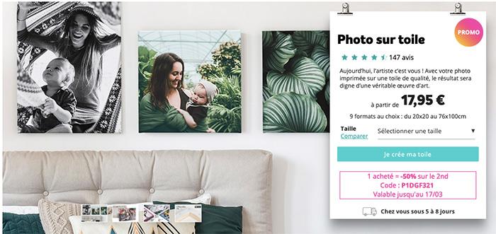 photoweb impression toile