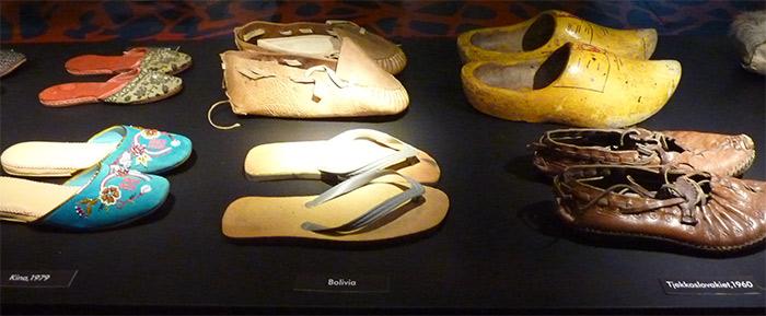alverdens sko exposition moesgaard
