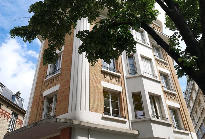 immeuble avenue republique paris colors