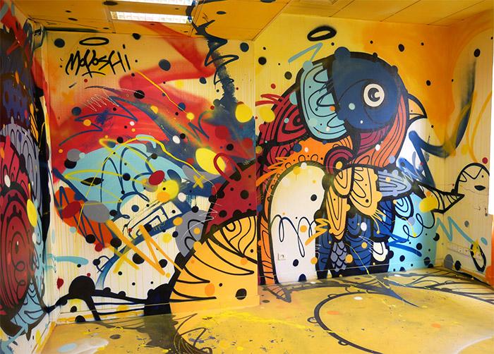Moyoshi street art