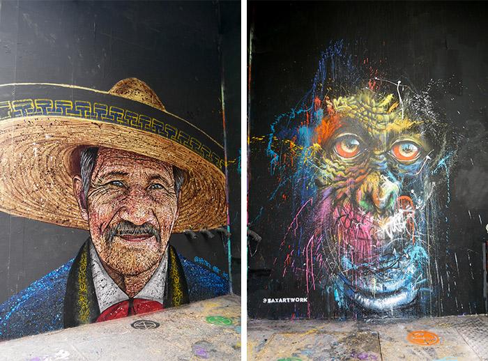 paris spot 13 street art