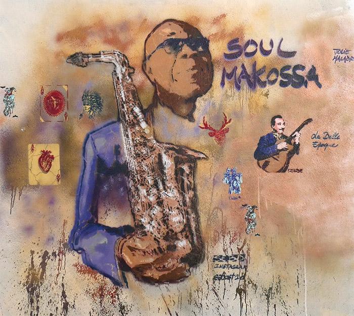 soul makossa pochoir street art