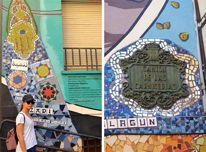 vitoria gasteiz pays basque murals