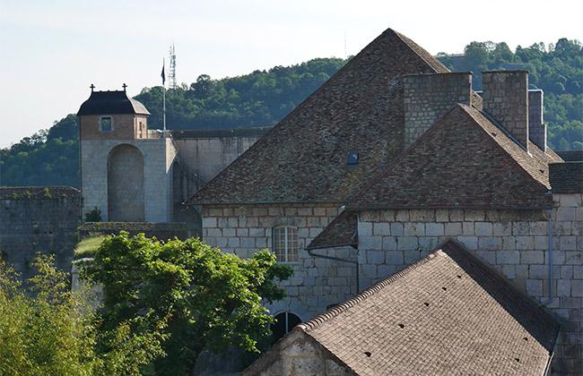 besancon remparts citadelle