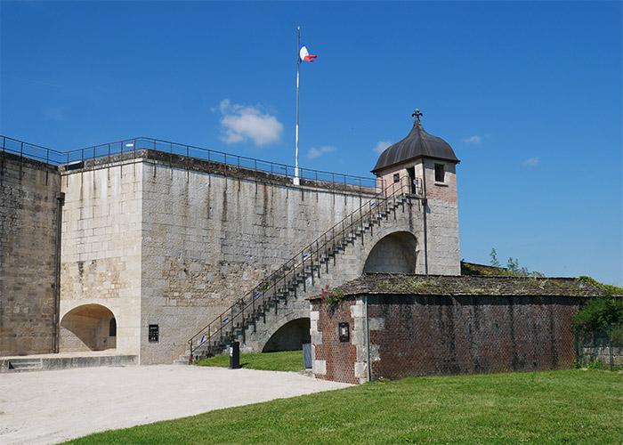 remparts citadelle besancon