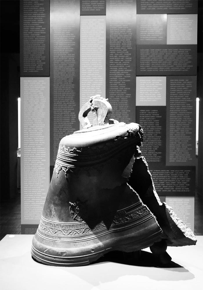 cloche eglise saint pierre eruption musee