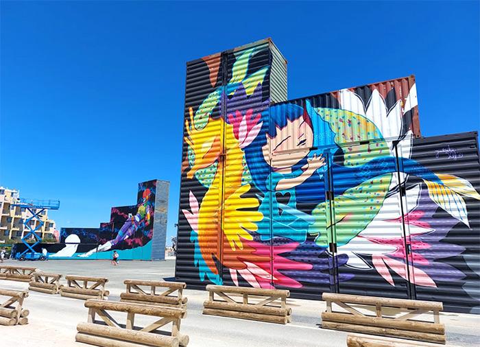 julieta xlf barcares street art