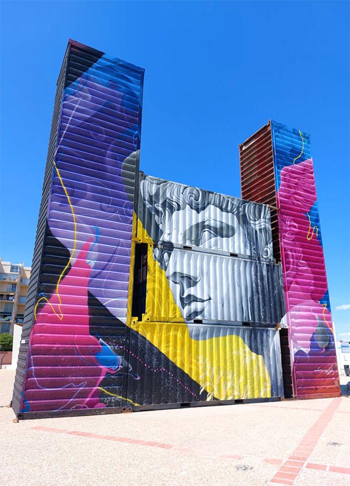 kraser street art barcares