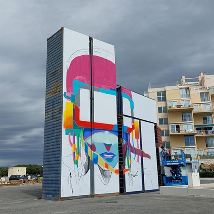 port barcares street art