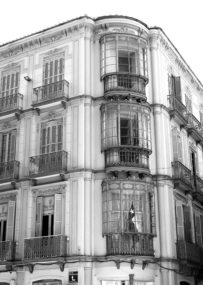 architecture malaga