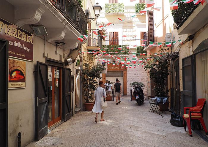 bari vieille ville pouilles