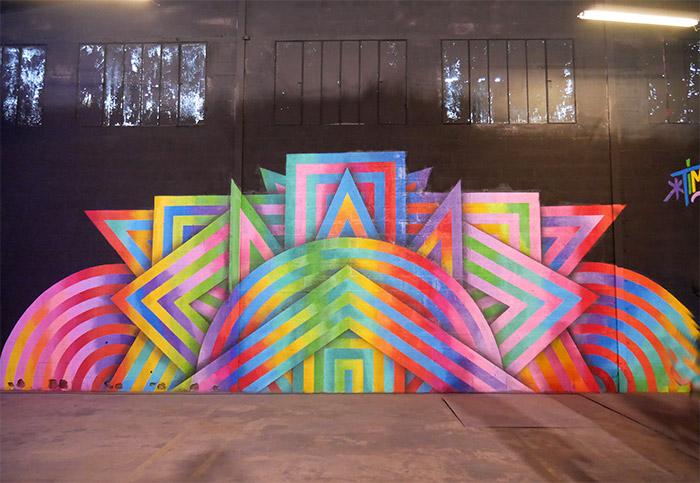 tim zdey street art peinture fraiche festival
